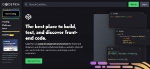 Coding Tools CodePen