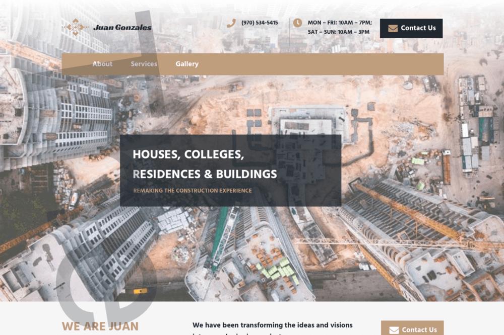 Juan Gonzales Construction Company